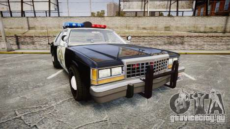 Ford LTD Crown Victoria 1987 Police CHP1 [ELS] для GTA 4