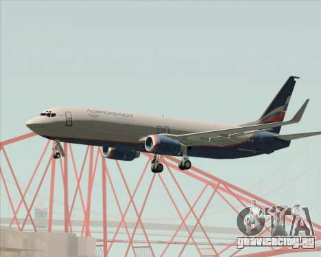Boeing 737-8LJ Aeroflot - Russian Airlines для GTA San Andreas