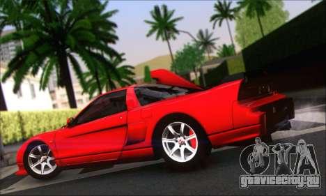 Honda NSX 2005 для GTA San Andreas вид сзади слева