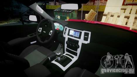Jeep Grand Cherokee SRT8 license plates для GTA 4 вид сзади