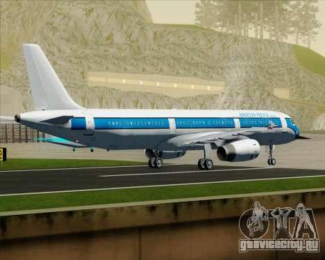 Airbus A321-200 American Pacific Airways для GTA San Andreas вид сзади