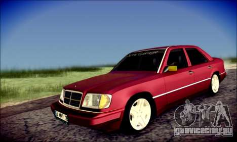 Mercedes-Benz E320 Delta Garage для GTA San Andreas