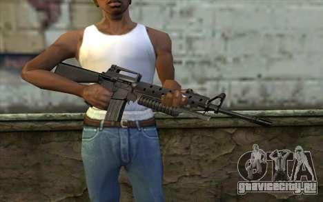 М16A4 с подствольником М203 для GTA San Andreas третий скриншот