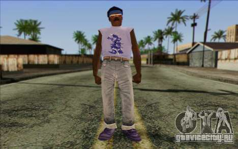 Haitian from GTA Vice City Skin 2 для GTA San Andreas
