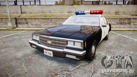 Chevrolet Impala 1985 LAPD [ELS] для GTA 4