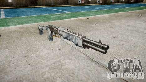 Ружьё Franchi SPAS-12 Skulls для GTA 4