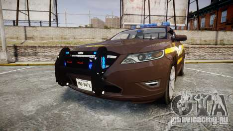 Ford Taurus Sheriff [ELS] Virginia для GTA 4