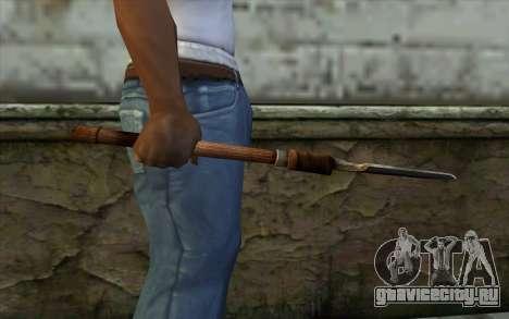 Саперная Лопатка (Battlefield: Vietnam) для GTA San Andreas третий скриншот