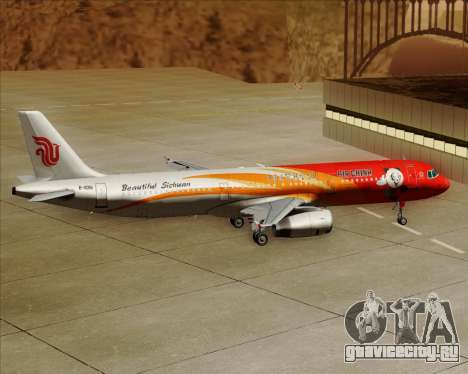 Airbus A321-200 Air China (Beautiful Sichuan) для GTA San Andreas