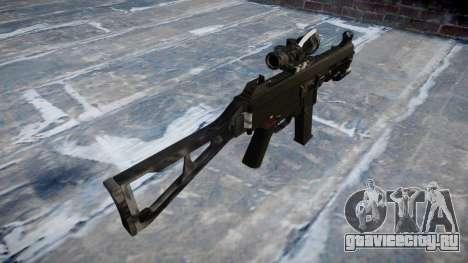 Пистолет-пулемёт UMP45 Kryptek Typhon для GTA 4 второй скриншот
