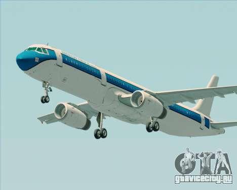 Airbus A321-200 American Pacific Airways для GTA San Andreas вид сзади слева
