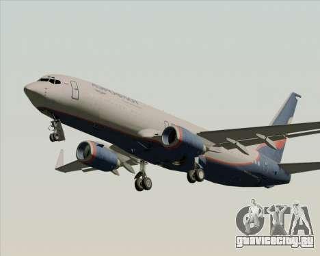 Boeing 737-8LJ Aeroflot - Russian Airlines для GTA San Andreas колёса