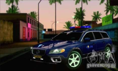 Volvo XC70 K9 Politie для GTA San Andreas