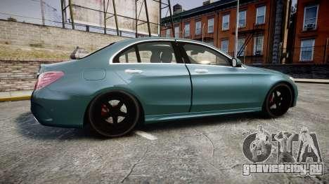 Mercedes-Benz C250 для GTA 4 вид слева