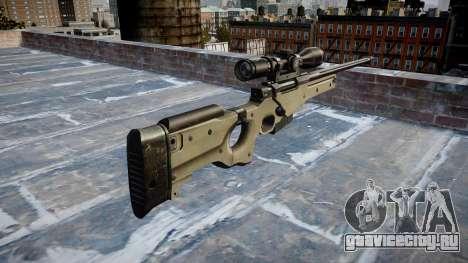 Снайперская винтовка L96A1 Magnum для GTA 4 второй скриншот