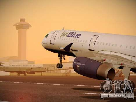 Airbus A321-232 jetBlue Do-be-do-be-blue для GTA San Andreas