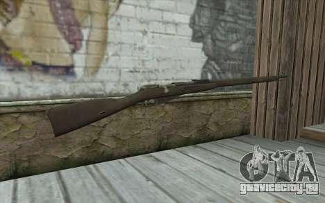 Винтовка Мосина v2 для GTA San Andreas второй скриншот