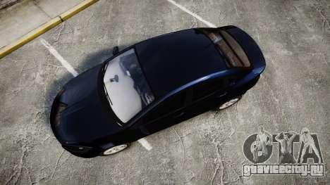 Dodge Dart 2013 Undercover [ELS] для GTA 4 вид справа