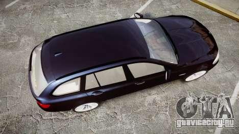 BMW 530d F11 Unmarked Police [ELS] для GTA 4 вид справа