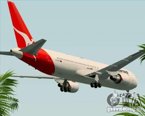 Boeing 767-300ER Qantas (Old Colors) для GTA San Andreas вид сбоку