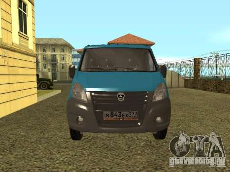 ГАЗель Next для GTA San Andreas вид справа