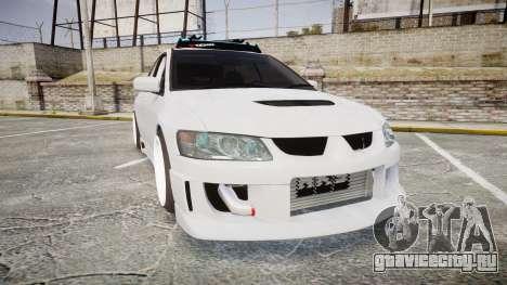 Mitsubishi Lancer Evolution VIII Stance для GTA 4
