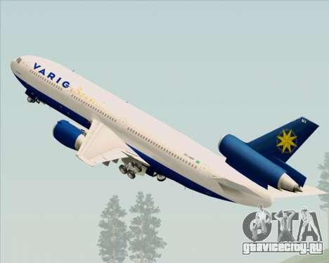 McDonnell Douglas DC-10-30 VARIG для GTA San Andreas