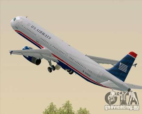 Airbus A321-200 US Airways для GTA San Andreas