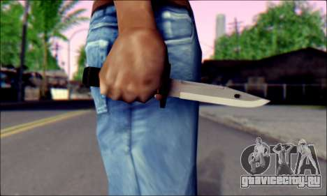 Knife from Death to Spies 3 для GTA San Andreas третий скриншот