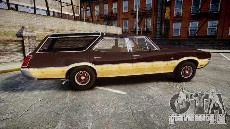 Oldsmobile Vista Cruiser 1972 Rims2 Tree5 для GTA 4 вид слева
