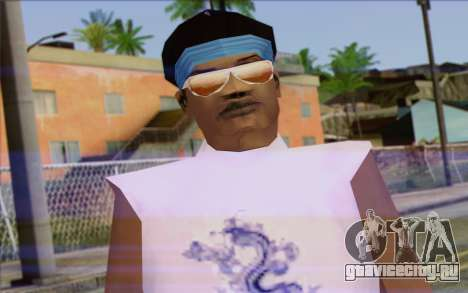 Haitian from GTA Vice City Skin 2 для GTA San Andreas третий скриншот