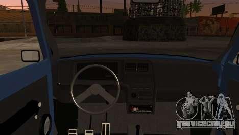 Fiat 147 для GTA San Andreas вид сзади слева