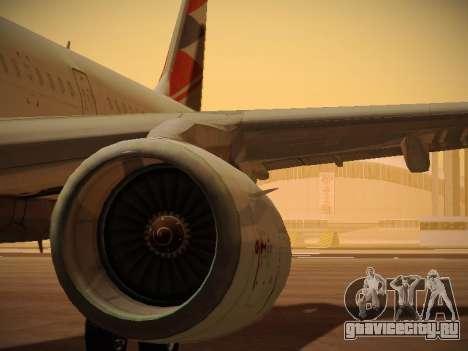 Airbus A321-232 Czech Airlines для GTA San Andreas двигатель