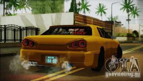Elegy Team DriftMonkey для GTA San Andreas вид слева