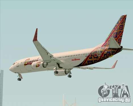 Boeing 737-800 Batik Air для GTA San Andreas салон