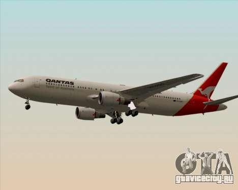 Boeing 767-300ER Qantas (Old Colors) для GTA San Andreas вид сзади слева