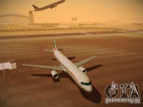 Airbus A321-232 Middle East Airlines для GTA San Andreas вид слева