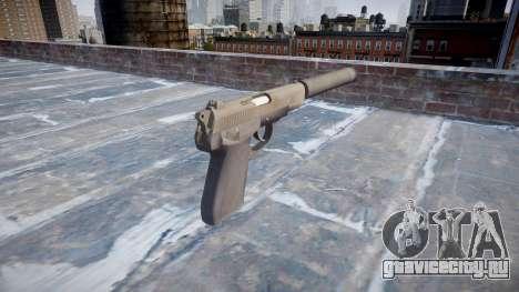 Пистолет QSZ-92 silencer для GTA 4 второй скриншот