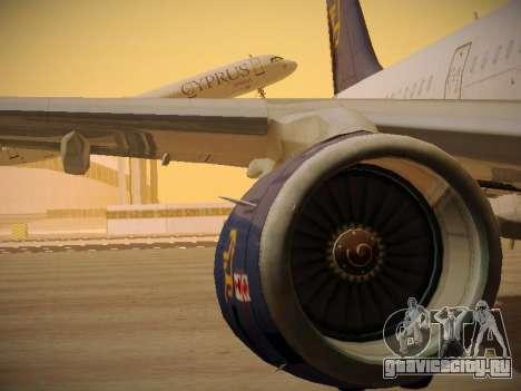 Airbus A321-232 Cyprus Airways для GTA San Andreas колёса
