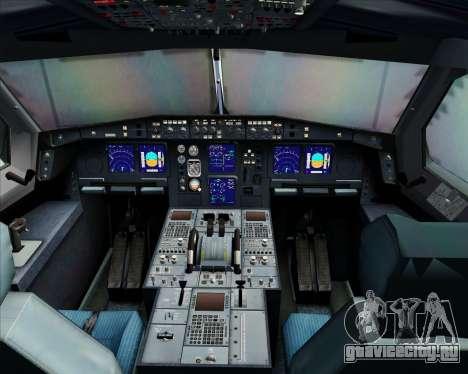 Airbus A340-300 Qantas для GTA San Andreas салон