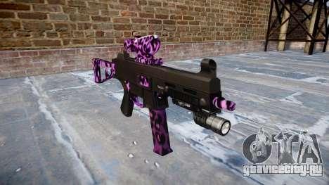 Пистолет-пулемёт UMP45 Party Rock для GTA 4