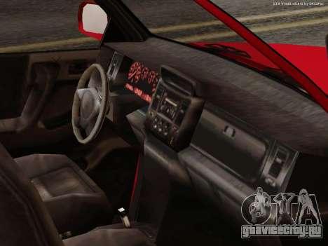 Albany Cavalcade для GTA San Andreas вид сбоку