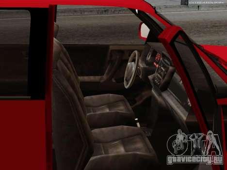 Albany Cavalcade для GTA San Andreas вид изнутри