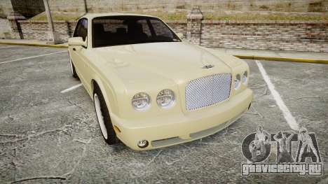 Bentley Arnage T 2005 Rims1 Black для GTA 4