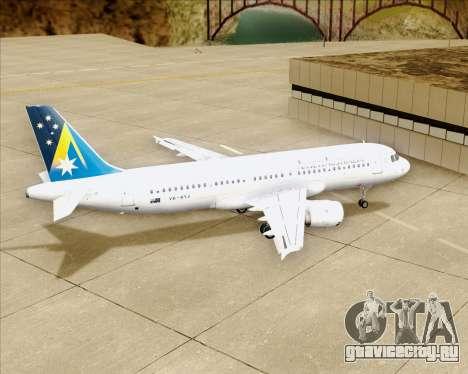 Airbus A320-200 Ansett Australia для GTA San Andreas вид сверху