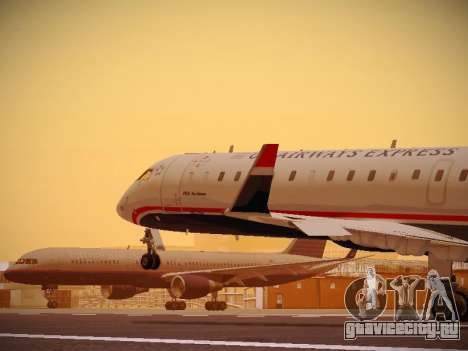 Bombardier CRJ-700 US Airways Express для GTA San Andreas