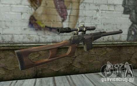 ВCС Винторез для GTA San Andreas второй скриншот