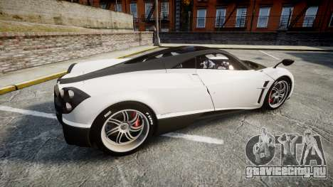 Pagani Huayra 2013 [RIV] Carbon для GTA 4 вид слева