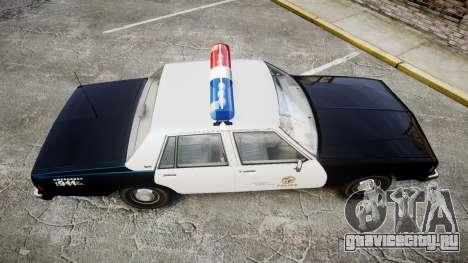 Chevrolet Impala 1985 LAPD [ELS] для GTA 4 вид справа