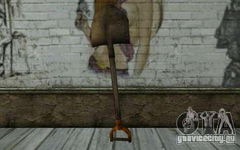 Новая лопата для GTA San Andreas второй скриншот